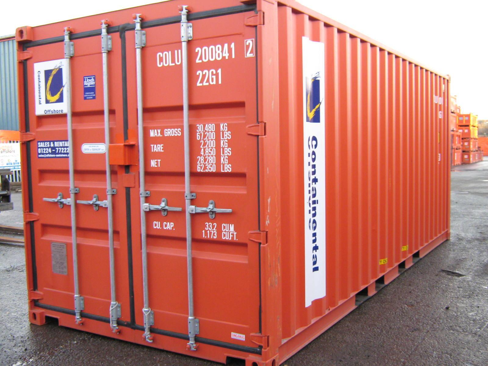 Ký hiệu Container