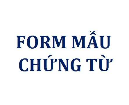 Form mẫu chứng từ